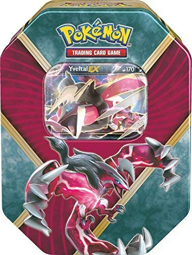 Lively Moments Pokemon Karten Tin Box X & Y Yveltal-EX EN Englisch Promo Trading Card Game / Metallbox