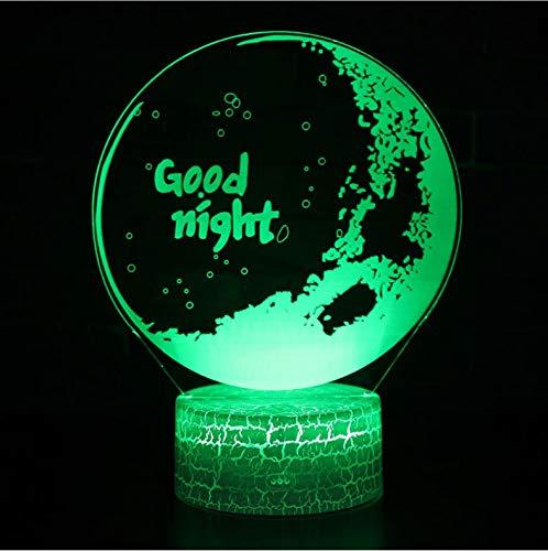 Gute Halloween Themen - Nachtlicht Für Kinder 3D Illusion
