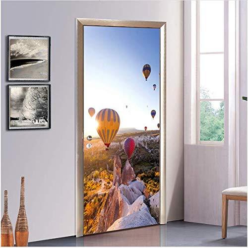 Newberli Türkei Heißluftballon Wandbild Eingang Badezimmer Glastüren Und Fenster Tür Aufkleber Tv Hintergrund Sofa Dekoration Aufkleber
