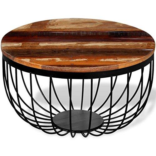 Festnight Couchtisch Wohnzimmertisch Tisch Sofatisch Kaffeetisch Massivholz