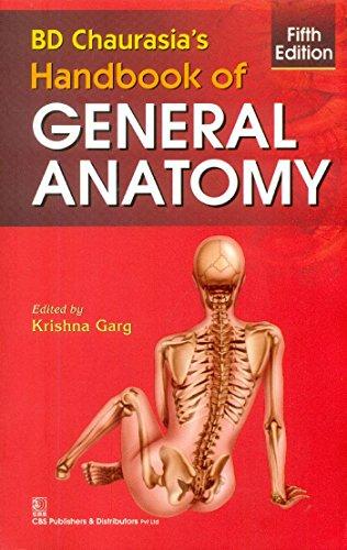 Bd Chaurasia S Handbk Gen Anatomy 5e