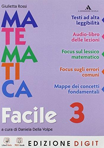 Matematica Traguardi e competenze - Matematica facile 3