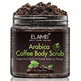 Natural Coffee Scrub with Organic Coffee Body Scrub, Best Acne, Anti Cellulite and Stretch Mark treatment, Spider Vein Therapy for Varicose Veins & Eczema