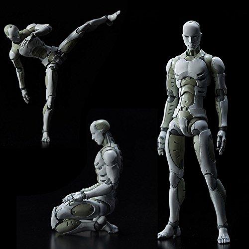 Espeedy Figura de acción de juguete,Sintético humano que los hombres cuerpo acción Figura Estatuilla 1/12 juego de la balanza juguetes