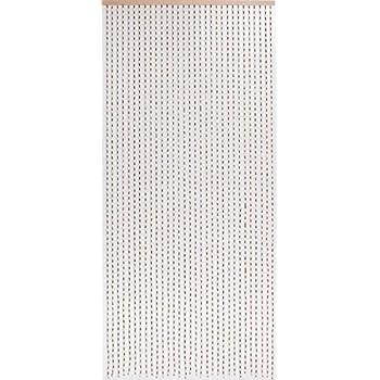Gew/ürze rideau de perles dehliholzperlenvorhang rideau de porte en bambou 90 x 200 cm