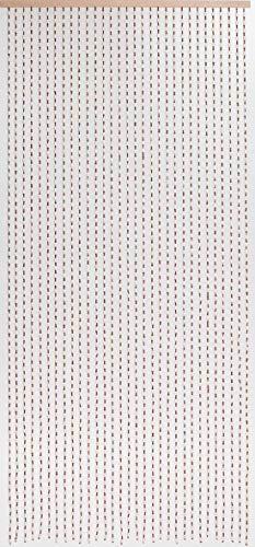 Holzperlenvorhang Perlenvorhang Türvorhang 'Dehli' ca. 90x200cm (BxH)