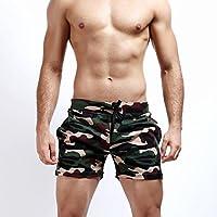 SEY Troncos de natación - pantalones cortos de verano Pantalones cortos de camuflaje de los hombres tendencia deportes cortos ocasionales,segundo,S