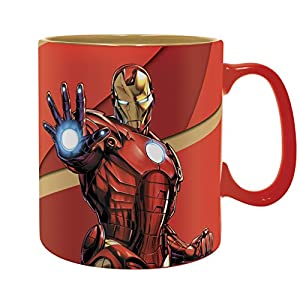 ABYstyle - MARVEL - Taza - 460 ml - Iron Man Armored
