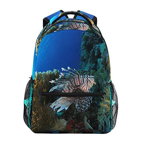 Twill Travel Laptop Rucksack College Schultasche für Frauen Männer Business Durable Corals -