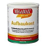MEGAMAX–aufbaukost–Supplément pour Ganar Poids et masse musculaire–Vanille–SOLO un 0,5% de graisse–1,5kg