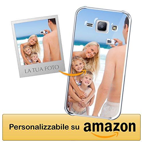 Cover Personalizzata Samsung Galaxy J7 - Custodia Morbida e Trasparente - Stampa di altissima qualità