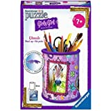 Ravensburger 12074 - 3D Puzzle Girly Girl Edition Utensilo Pferde