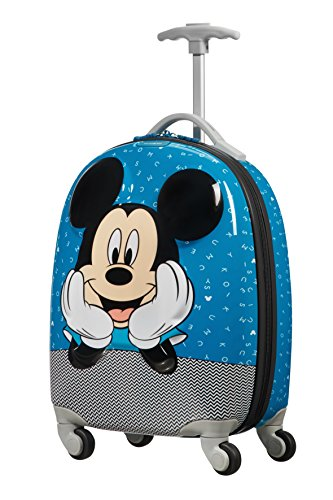 Samsonite disney ultimate 2.0 - spinner 49/17 1.7 kg valigia per bambini, 49 cm, 20.5 liters, multicolore (mickey letters)