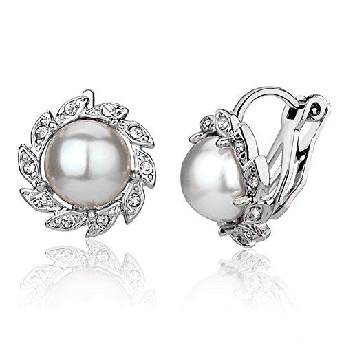 non-orecchini/Orecchino di perla/ Clip auricolare/Orecchini di temperamento (Ciondolano Clip)