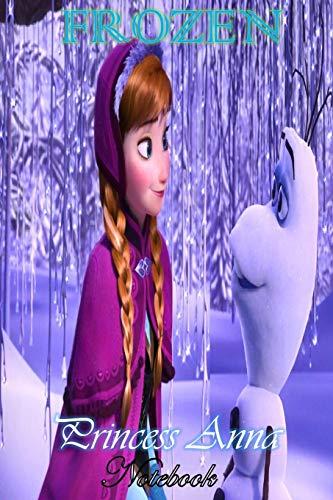 39d0c06594d97 Princess Anna: Disney Frozen Themed Notebook Journal 6