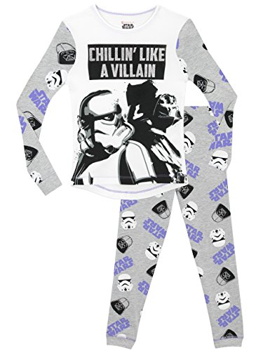 Star-Wars-Girls-Pyjamas-Snuggle-Fit-Ages-5-to-13-Years