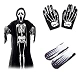 Best Adult Halloween Costumes - Halloween Skull Skeleton Ghost Clothes & Screaming Ghost Review