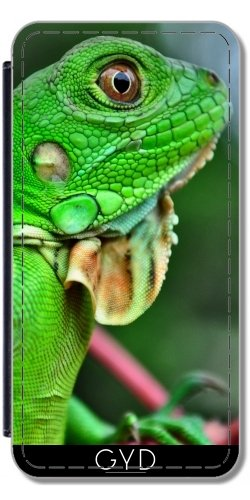 Custodia in silicone per Iphone 7 / Iphone 8 - Iguana Rettile Fauna Selvatica by WonderfulDreamPicture Similpelle