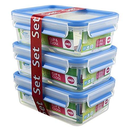 emsa-clipclose-508570-set-de-3-conservadores-hermeticos-de-plastico-rectangular-de-055l-higienico-no