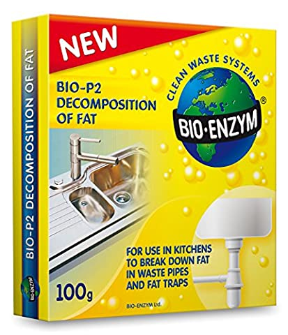 Biological enzyme treatment for the decomposition of fat in kitchen