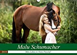 Malu Schumacher Mein Leben ist (k)ein Ponyhof ! (Wandkalender 2019 DIN A3 quer): Eine Fotoauswahl vom Sommer 2017 zeigt hier Malu Schumacher und ihre ... (Monatskalender, 14 Seiten ) (CALVENDO Tiere)