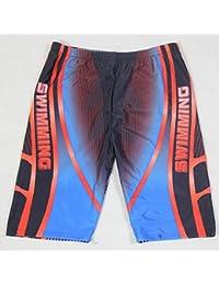 7a3f72a09f51 ZZ Costume da Bagno per Boxer da Donna di Grandi Dimensioni, Asciugatura  Rapida, da Uomo,Nuoto Blu e…