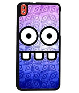Printvisa 2D Printed Cartoon Designer back case cover for HTC Desire 816 - D4517