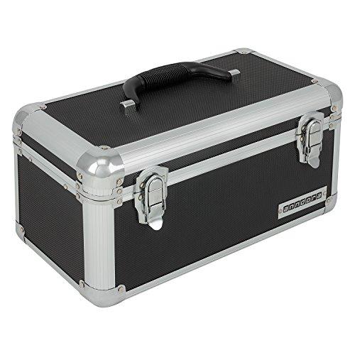 anndora Werkzeugkoffer 13 L Transportbox Werkzeugkasten Werkzeugbox - schwarz