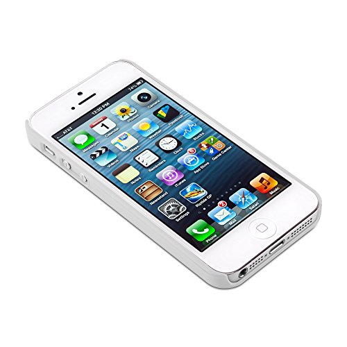 Cadorabo - Design Mandala Hard Cover Slim Case pour Apple iPhone 5 / 5S / 5G - Etui Coque Bumper Henna Paisley en VIOLETS-TRANSPARENT BLANC-TRANSPARENT