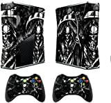 Designer Decal Sticker for XBOX 360 SLIM System & Remote Controllers -Reaper