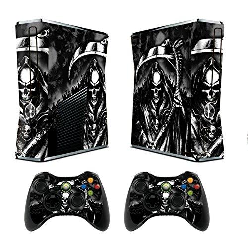 247Skins - Juego de skins para Xbox 360 y mandos, diseño de Repaer, color negro