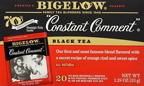 Constant Comment Tea Bag, 20 Count