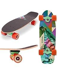 Street Surfing Cruiser 28Skateboard Unisex Erwachsene, Rocky Mountain