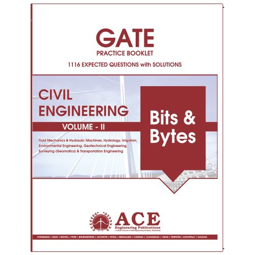 GATE 2018 CIVIL Engg Practice Book volume 2, 1116 Expected Questions with solutions  available at amazon for Rs.300