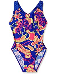 Speedo Girls Swimwear Flamingo Island Allover Splashback