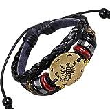 Mehrunnisa Fashion Multi-Layer Black Lea...