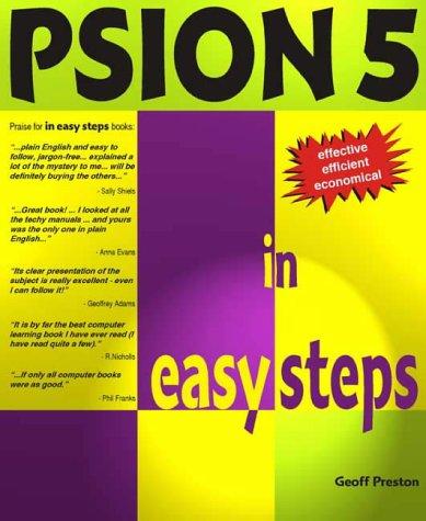 PSION5. Edition anglaise PDF Books