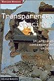 Transparence, opacité ? 14 artistes contemporains chinois