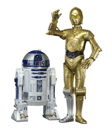 [Import Anglais]Star Wars - 1/10th Scale C3-PO & R2-D2 Artfx Statue