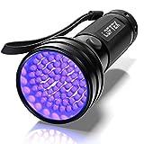 LOFTEK® 51 LED UV Lampe de Torche Ultra Violet Blacklight Flashlight , rétroéclairage, 395nm UV (Utlra Violet)