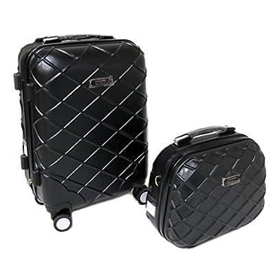Lollipops [P9470] - Set valise trolley ABS + vanity 'Lollipops' noir - 50x35x23