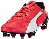 PUMA Evospeed 1.3 Lth FG, Scarpe da Calcio Uomo, Rosso (Rot (Bright Plasma-White-Peacoat 03), 41 EU