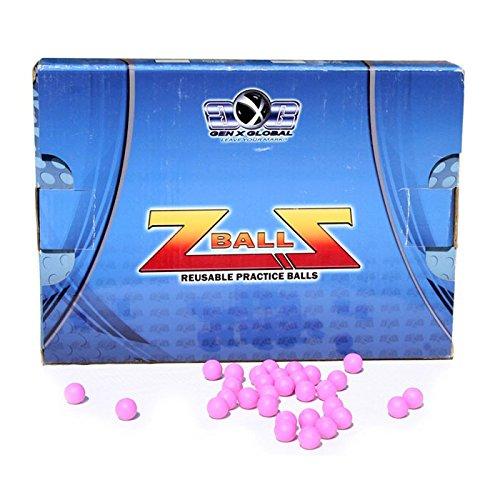 GXG PAINTBALLS Z-BALLS 500 STUCK - CAL  50 - BALINES DE PLASTICO PARA AIRSOFT  TALLA STANDARD
