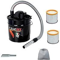 Aspiracenere elettrico CENERIX 800 W made in italy con 2 filtri hepa e 1 lancia in omaggio