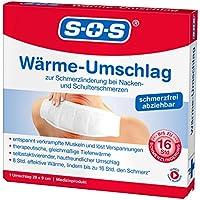 SOS Wärme Umschlag - Schmerzlinderung für Nacken,Muskeln, Gelenke, 1er preisvergleich bei billige-tabletten.eu