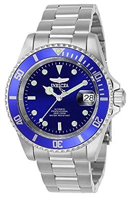 """Invicta 9094OB Reloj Automatico Unisex """"correa de acero inoxidable"""" Azul/Plateado/Plateado de Invicta"""