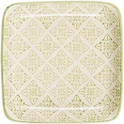 Ib Laursen Teller mini Casablanca grün Muster