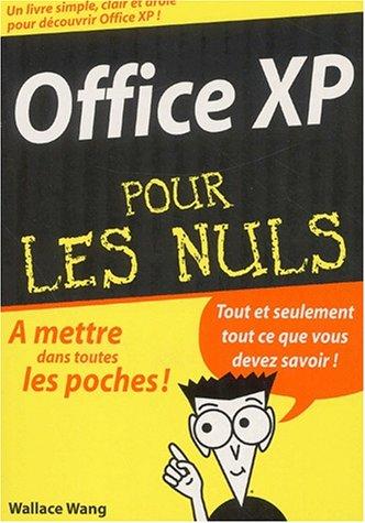Office XP par Wallace Wang