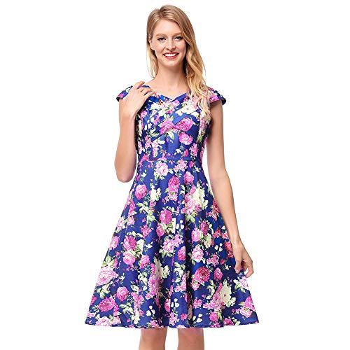 YEAHBO Frauen Weg Schulter Blumendruck Boho Kleid Frauen Strand Sommer Kleider Damen Trägerlosen Langen Maxi Kleid Vestidos Female -