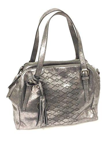 Kollektionen Handtaschen Aus Leder (SURI FREY Sherry Cityshopper NO.2 833 dark silver)